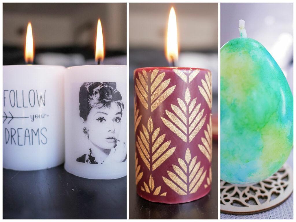 Décoration et personnalisation des bougies