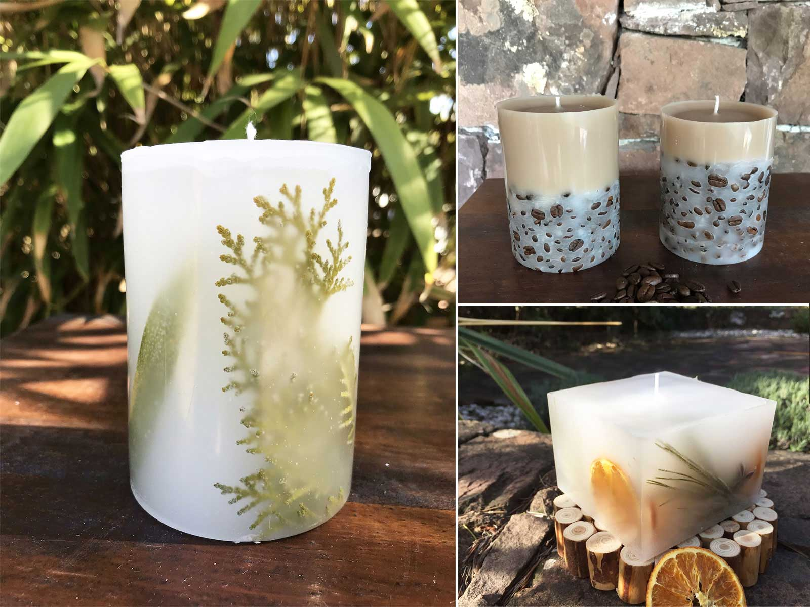 Masterclass N°4 – Bougies avec inclusions décoratives