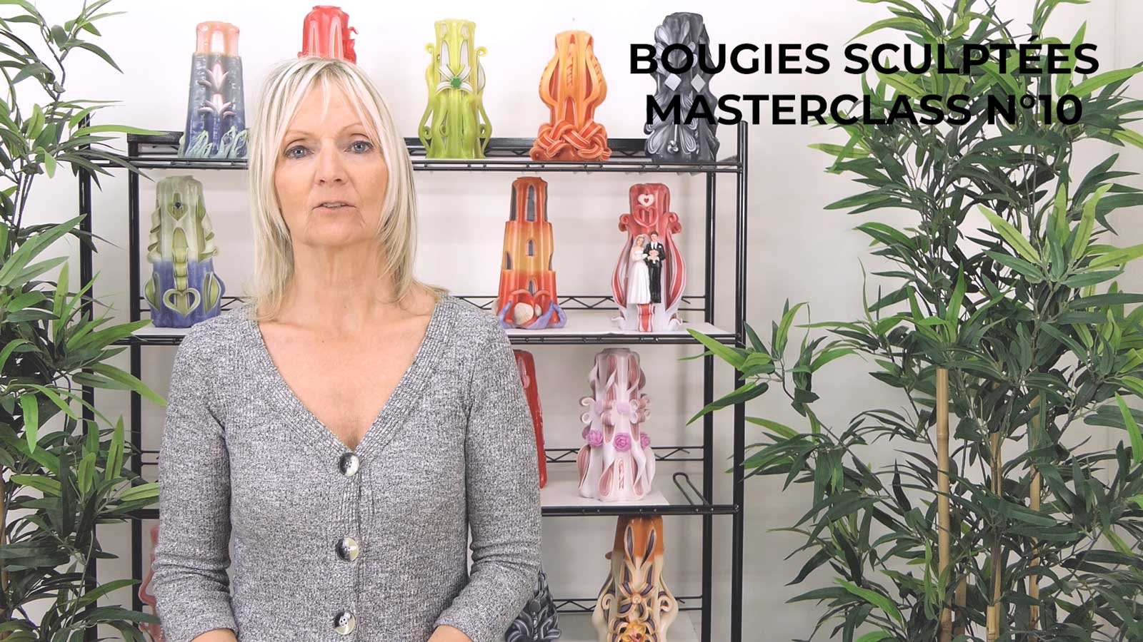 Introduction du module bougies sculptées Bougiesmasterclass N°10